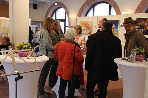 Event im Atelier Leoni, Kunstakademie Wertheim, Akademie für Fotorealismus