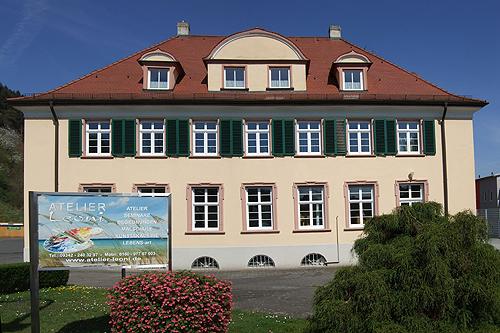 Foto Gebäude Atelier Leoni, Kunstakademie Wertheim, Akademie für Fotorealismus