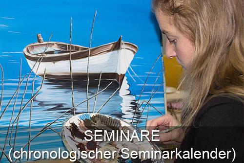 Schaltfläche Seminarkalender Atelier Leoni, Kunstakademie Wertheim, Akademie für Fotorealismus