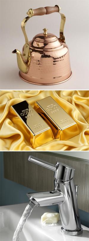 Beispielbild Kurs W-06 Wie malt man … Metall? Gold – Silber - Kupfer